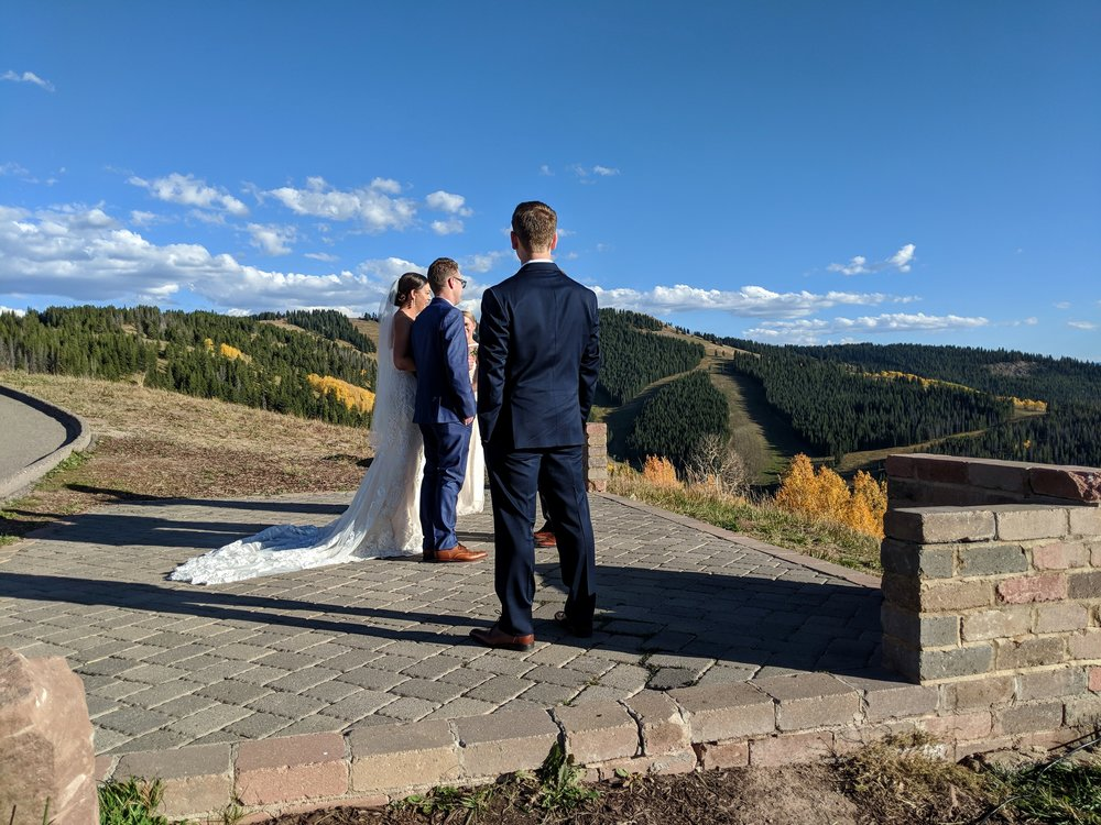 String Trio wedding ceremony music in Vail, Colorado