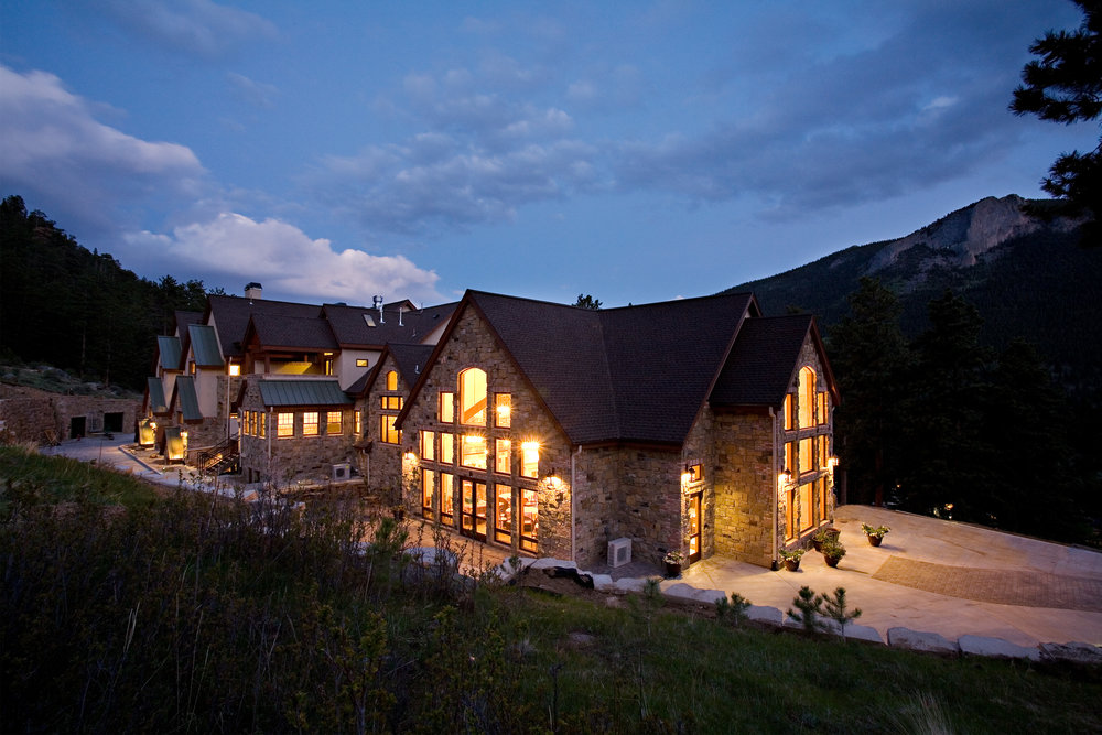Our favorite Estes Park venues - Black Canyon InnDella Terra Mountain Chateau (pictured)The Stanley HotelYMCA of the Rockies