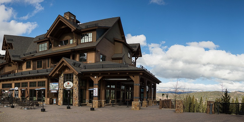 Our favorite Breckenridge venues - The Lodge at BreckenridgeMountain Thunder LodgeTen Mile StationThe Sevens (pictured)