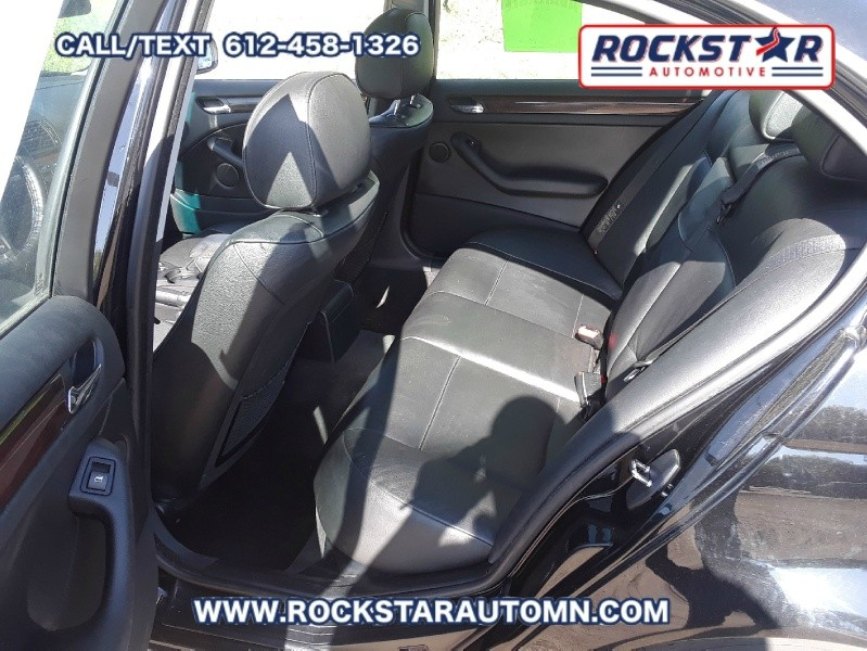 Backseat of 2005 BMW 3-Series 325 IS