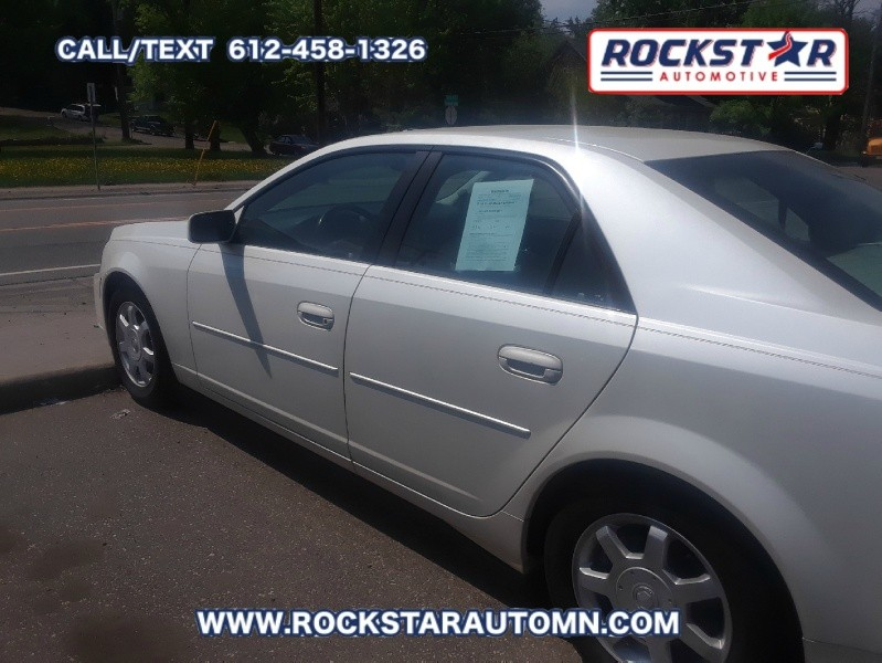 Side View of 2003 Cadillac CTS 4dr Sdn