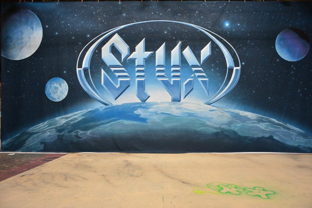 Styx   Hand painted muslin backdrop