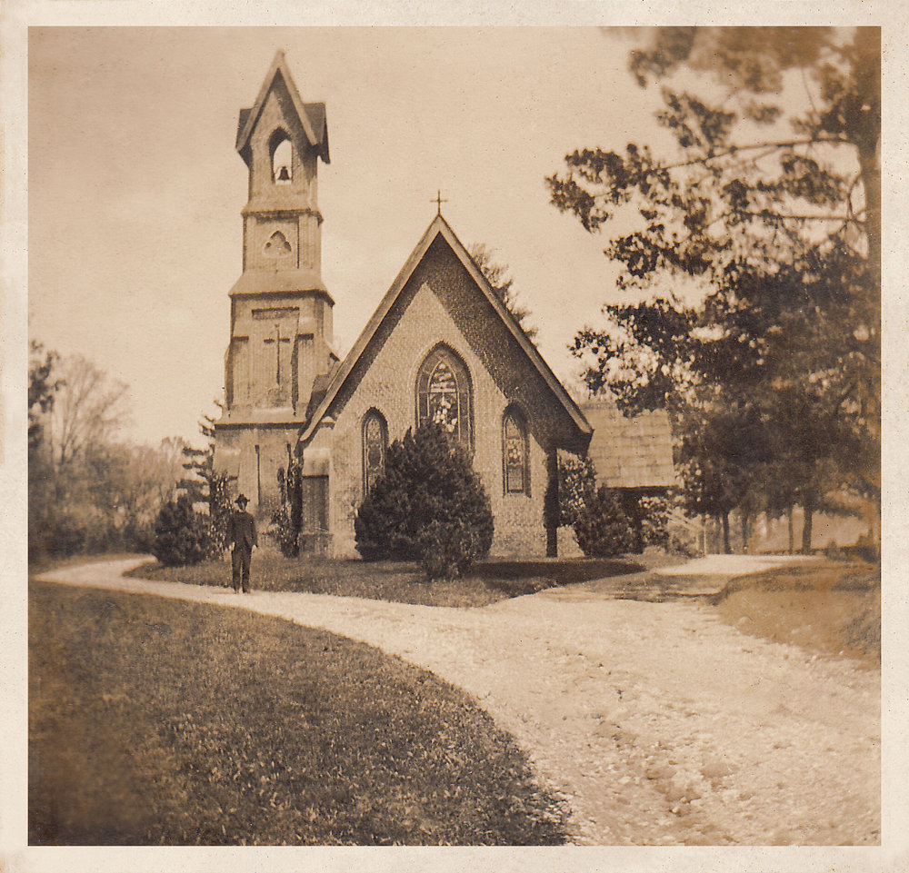 Original Church circa 1910.