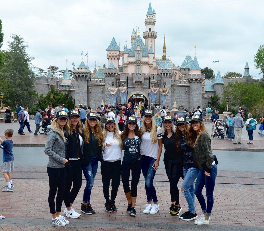 Girls trip to Disneyland