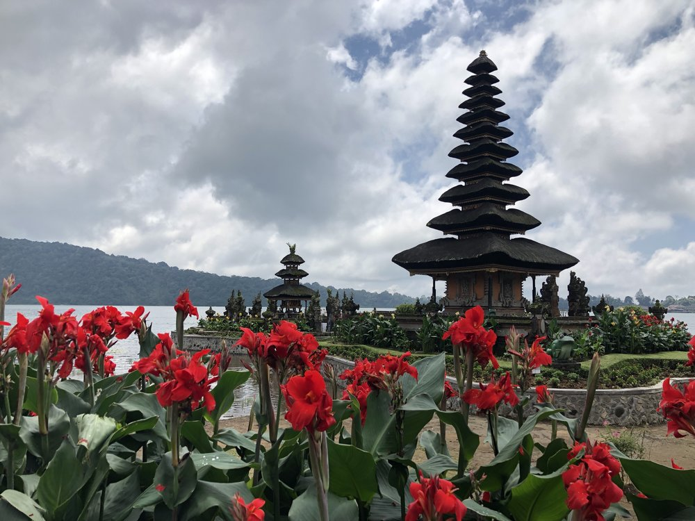 Bali Temple by the Lake