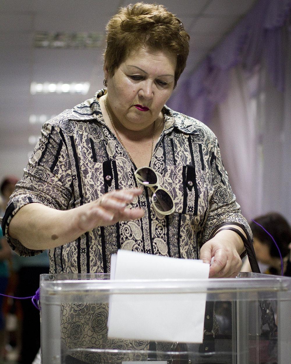 Voting, Kiyv, 2014
