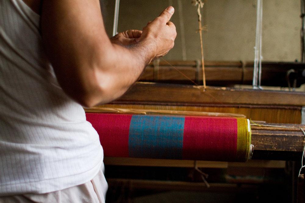 Shawl Weavers, Kashmir