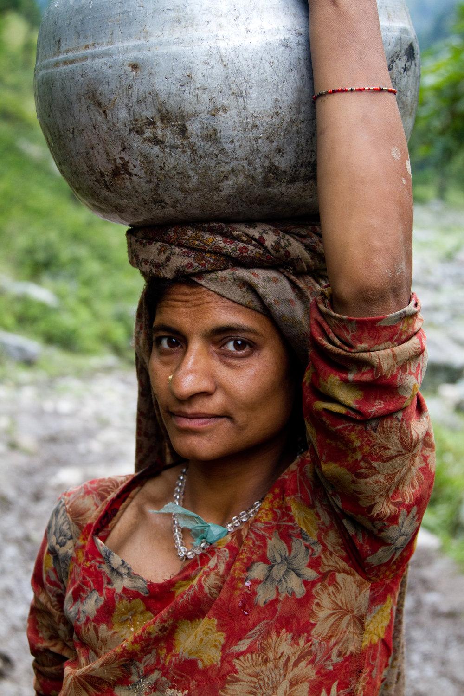 Himalayan Woman, Kashmir