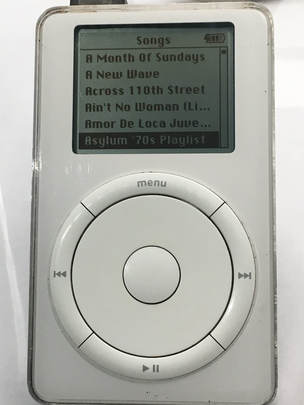 The iPod Original was a 2001 Christmas gift from Donna