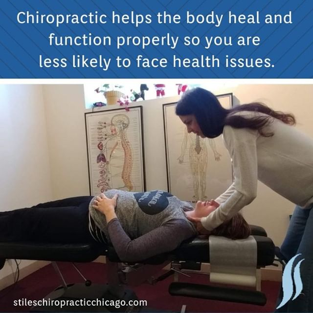 Chiropractic helps the body heal and function properly so you are less likely to face health issues. . . . #chiropractor #chiropracticworks #chicago #chicagochiropractor #healthyfamilies #chitown #windycity #chicagoland #painfree #spine #wellness #fitnessmotivation #drtraceystiles #health #healthyliving #traceystiles #stileschiropractichicago #stileschiropractic #subluxation #chirokids #chirokidsrock #healthychoices #health #healthandwellness