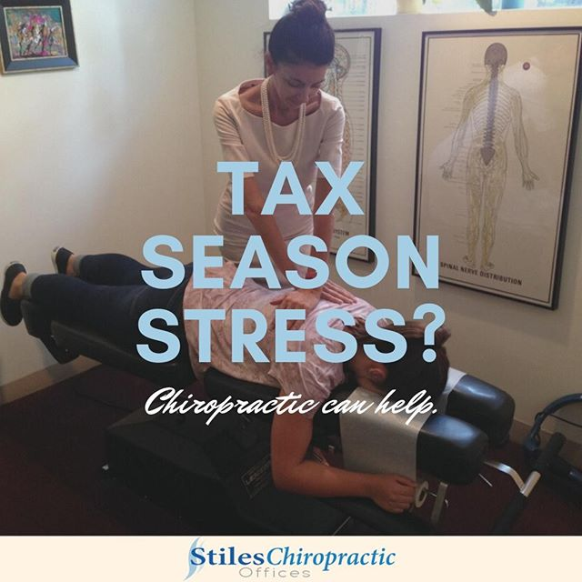 Tax season is going strong, and that means added stress of many of us. Stress can have a huge negative impact on your health and can lead to issues including anxiety, depression, illness, and lack of sleep. Whether you are facing situational stress due to tax season are are dealing with chronic stress, we can help. Click the link in our bio for more info. . . . #chiropractor #chiropracticworks #chicago #chicagochiropractor #healthyfamilies #chitown #windycity #chicagoland #painfree #spine #wellness #fitnessmotivation #drtraceystiles #health #healthyliving #traceystiles #stileschiropractichicago #stileschiropractic #subluxation #chirokids #chirokidsrock #healthychoices #health #healthandwellness