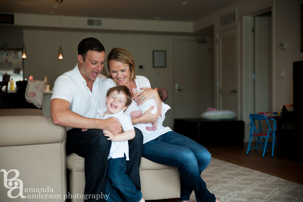 Newborn Baby Girl- San Francisco Family Photographer