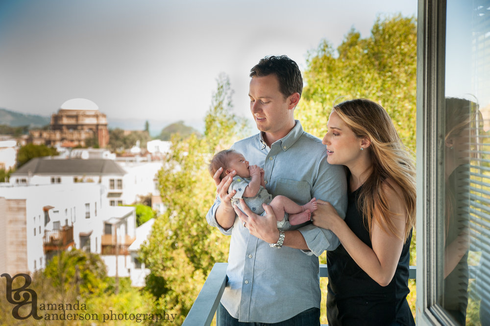 San Francisco Newborn Photography, Amanda Anderson Photography, Palace of Fine Arts Backdrop