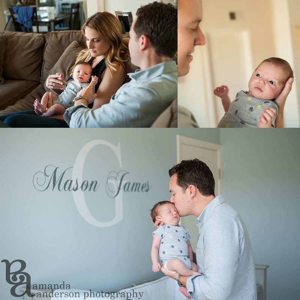Newborn Photos, San Francisco Newborn Photographer, Amanda Anderson Photography