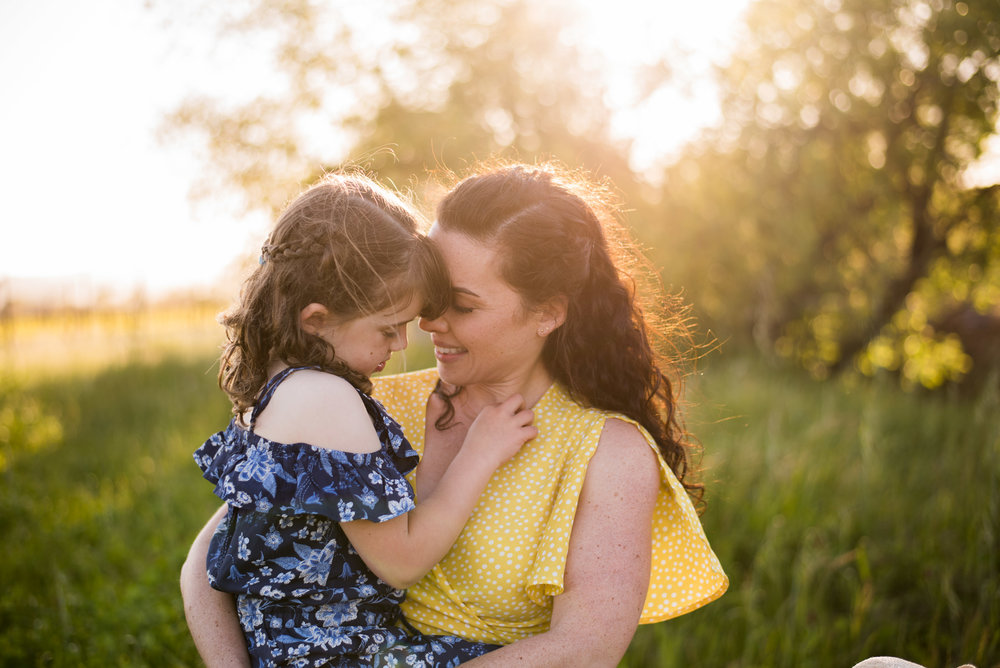 San Francisco based photographer, Amanda Anderson, photographed family in Sonoma, California
