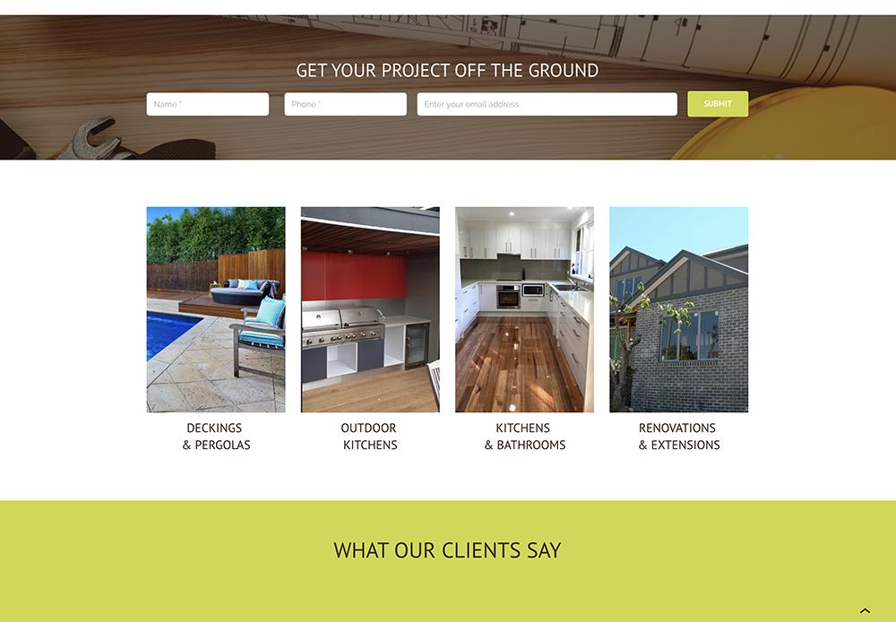 Client website: www.bapbuilding.com.au