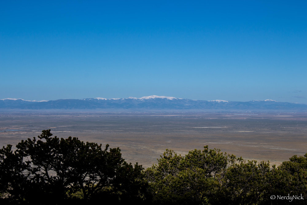 Morning across the San Luis Valley