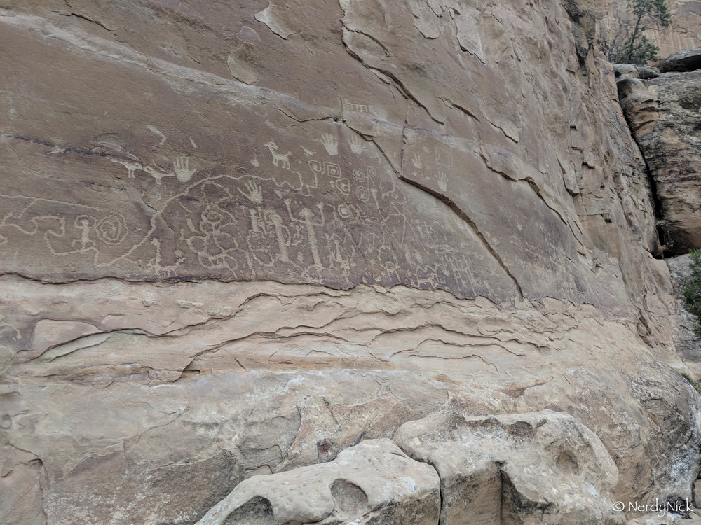 The Petroglyphs or Petroglyph Point Trail