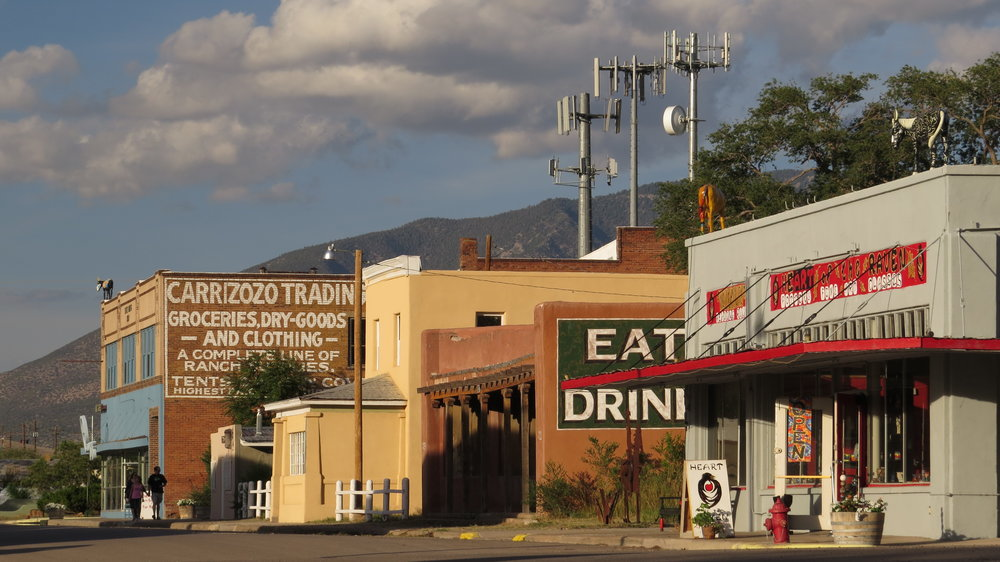 12th Street, CARRIZOZO, New Mexico, USA - Photo by RAY DEAN