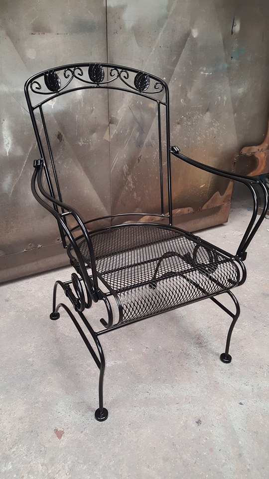 Outdoor Steel Chair