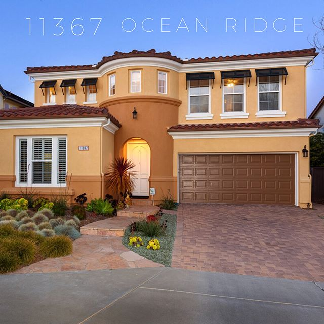 New to the market in Carmel Valley. 11367 Ocean Ridge Way. $1,465,000