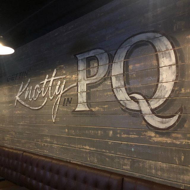Now Open in PQ! They are in the middle of their soft opening so currently only open for dinner. Starting Monday they should be at their regular hours. 🍻 Welcome to the neighborhood @knottybarrelpq