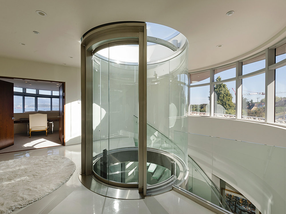 Canning Fok Residence, Butterfly House, Custom Home Build, Falcon Homes, MacLean Bros. Drywall
