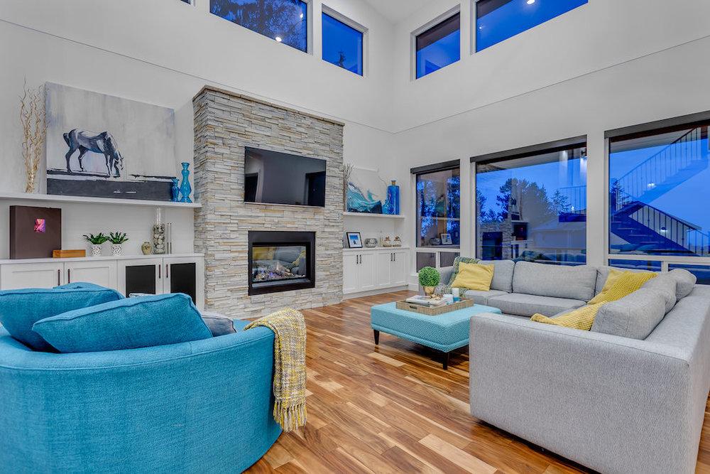 13743 Blaney Rd, Maple Ridge, Nick West Developments, Custom Home Build, MacLean Bros. Drywall