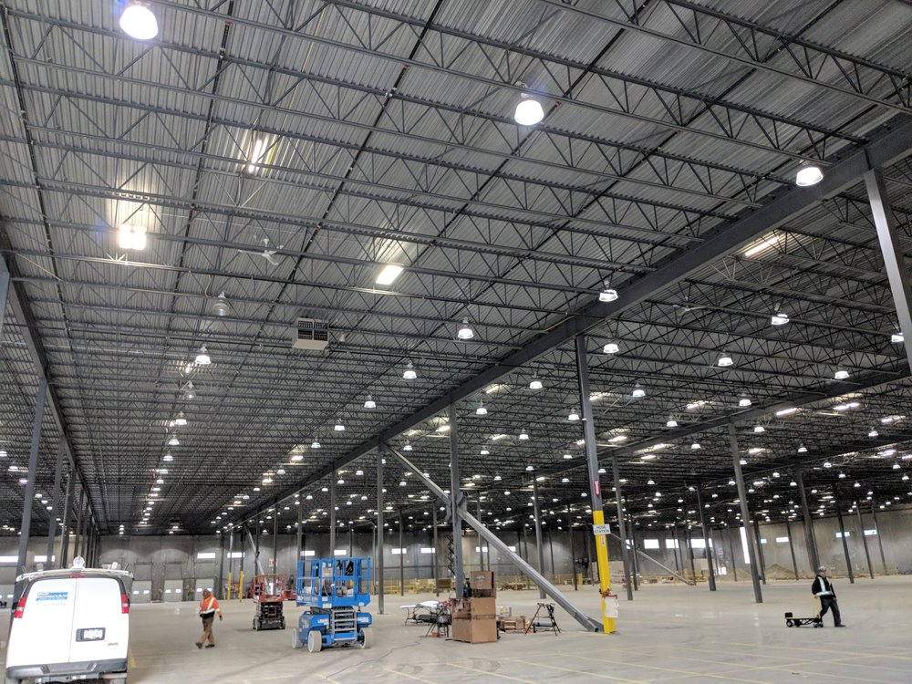 MacLean Bros. Drywall, Base build steel structure, commercial drywall