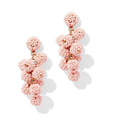 Seed Bead Spherical Drop Earrings (multiple color options) here