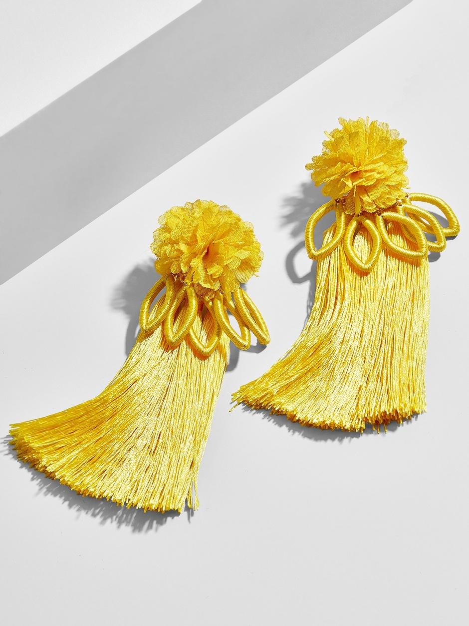 Sanaya Tassel Earrings  here