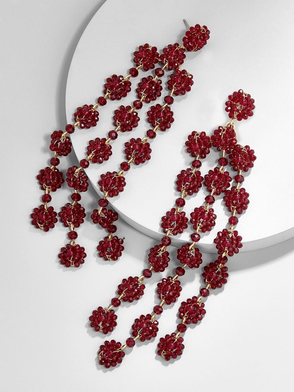 Shiori Flower Drop Earrings here