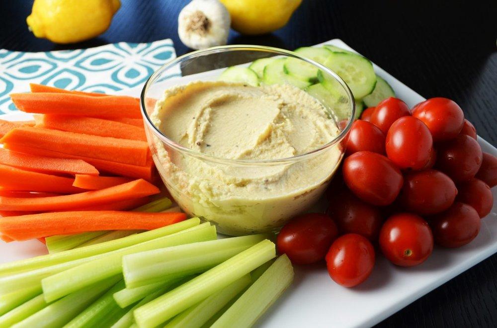 Carbohydrates - Quinoa saladOats with nutsSweet potato toastVeggies and hummusKale ChipsWhole grain PB&JBean salad