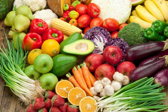 Carbohydrates- 40% of Diet - Focus on complex carbs- legumes, fruits, vegetables, some grainsSimple carbs break into simple sugars- breads, pasta, cake, candyFruits and Vegetables should be 9 servings per day- 2 fruits, 7 vegeat the rainbow- lighter vegetables provide more vitamins, Darker Vegetables provide more mineralshigh sugar fruits create high insulin surges and block fat burningFruits provide antioxidants that fight free radicals