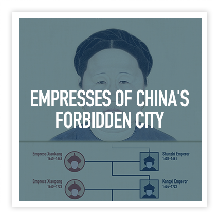 EMPresses Motion Graphics - Two motion graphics for Empresses of China's Forbidden City exhibition