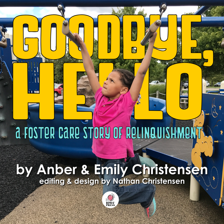 Five-year-old Anber - Five-year-old Anber makes her publishing debut with the story of her foster care experience.  Entering foster care just after her first birthday, Anber experienced the struggle of adjusting to a new home, foster siblings that came and went, and waiting for decisions made without her in court.  Ultimately, Anber's mother relinquished and Anber was adopted by her foster family.  This children's book preserves her shy voice by telling her story her own way, through a poem of quatrains she helped write.