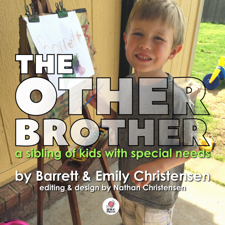 Barrett stays busy - as much as other kindergarten children in class, but things are even crazier at home!  He was adopted from foster care, and now finds himself to be the middle child of six children with special needs.  This means he has lots of friends to play with, but sometimes feels lost in the shuffle.  This heart-warming story expresses what it's like to be
