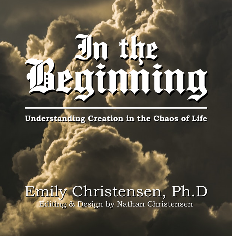 In her memoir, - Keeping Kyrie, Emily Christensen, PhD, recounted the chaos she experienced in a span of just a few years—from cancer and the death of her parents, to marriage and the adoption of six children with special needs. Now she draws on her decades of religious scholarship to look at the creation story in Genesis as a lens for understanding the principles of chaos and creation in our lives. A faithful member of The Church of Jesus Christ of Latter-day Saints, she ties together concepts from the Bible, the Book of Mormon, modern prophets, Hebrew linguistics, and her own perspective. The book's creative design and layout make this an easy read that is full of deep doctrines to ponder.