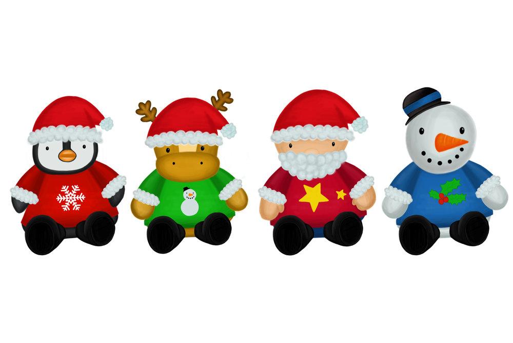 Christmas Plush Toys