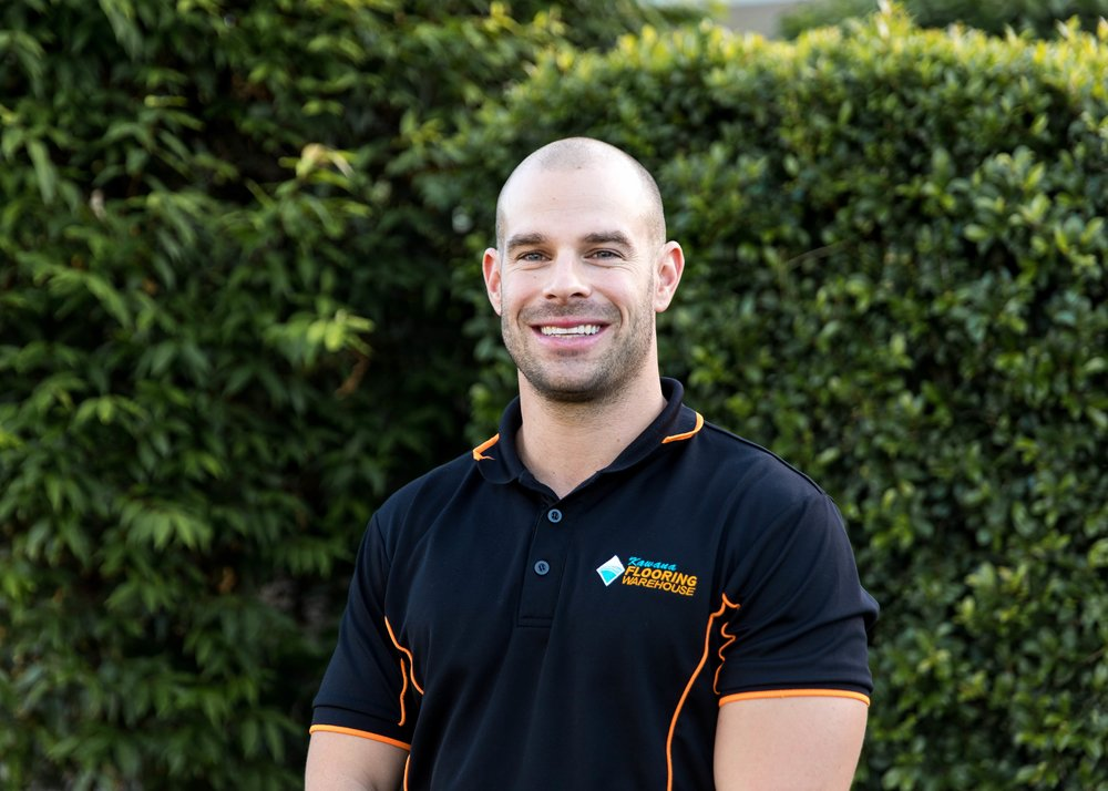 Ryan Fischer, Manager - What do you like about working at Kawana Flooring?I like that it's a place I'm still happy to come to after so many years. It is an interesting and always changing industry, and the crew we have at the moment really makes it a very enjoyable place to work.What are the values that drive you?Hard work, loyalty and respect. I don't mind what my staff do as long as they work hard and do their job. What is something that no one at work knows about you?I played in a rep mixed netball team when I was in high school.