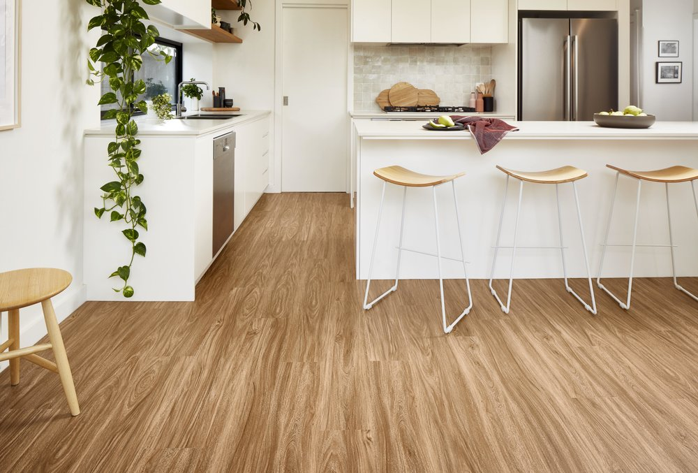 Godfrey Hirst's Apollo range of hybrid flooring, available at Kawana Flooring Warehouse