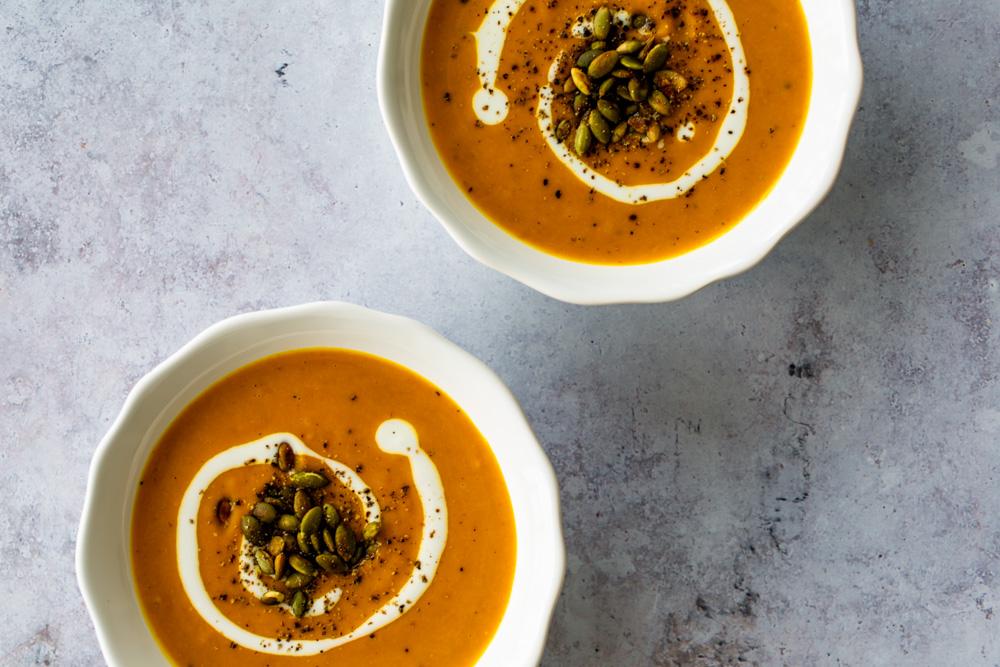 Coconut Curry Sweet Potato Soup | www.mackenziemjordan.com