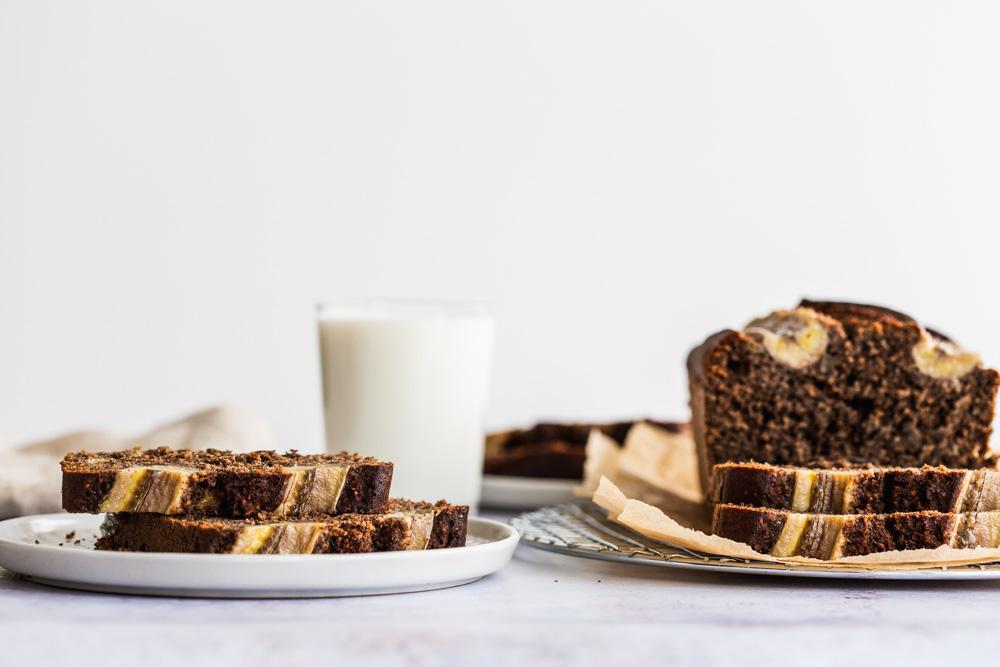 Brown Butter Tahini Banana Bread | www.mackenziemjordan.com