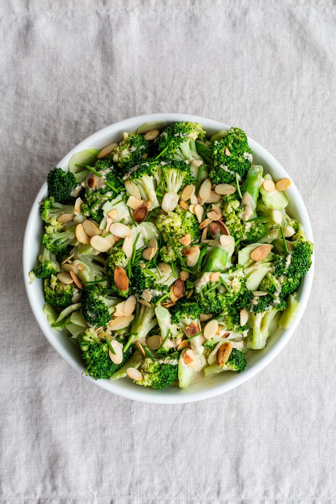 Miso Broccoli Salad | www.mackenziemjordan.com