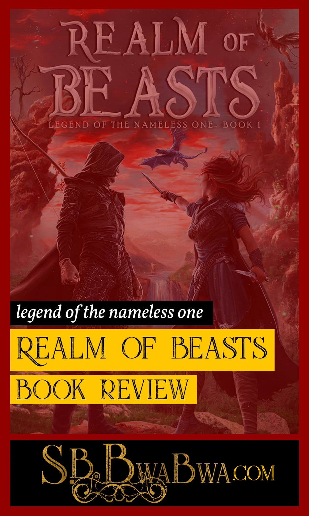 Read S.B. BwaBwa's review of the epic fantasy adventure: Realm of Beasts. Click through to read the article. www.sbbwabwa.com/blog