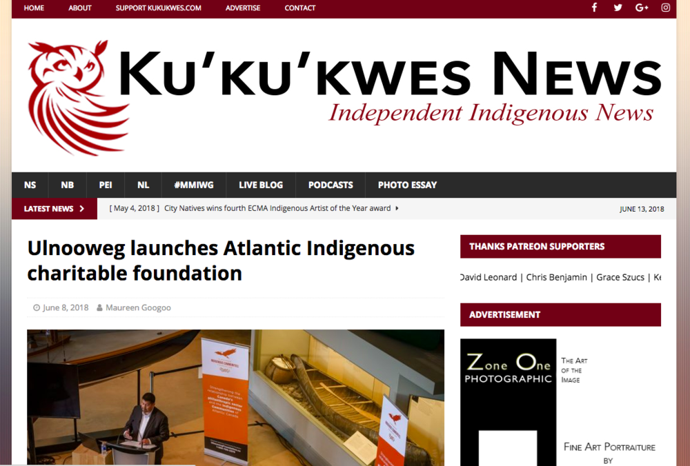 Ulnooweg launches Atlantic Indigenous charitable foundation