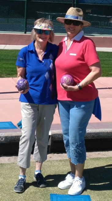 - 1st Place:Trudy Jadis (right)2nd Place:Pat Bowness (left)