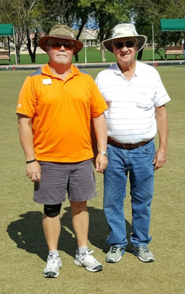 1st Place:Rick Ramsey (left)Chris Kaltenecker (right) -