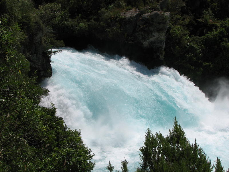 Huka Falls - View NZ's most visited attraction! Every second up to 220,000 litres of water gushes through the gorge and shoots out over 8 metres beyond to create a stunning blue pool.From here you can either enjoy a walk along the river back into town or an (optional) visit to the very beautiful and soothing ...