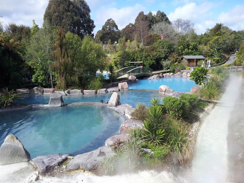 Wairakei Terraces Thermal Hot Pools - for a soak (winter option)